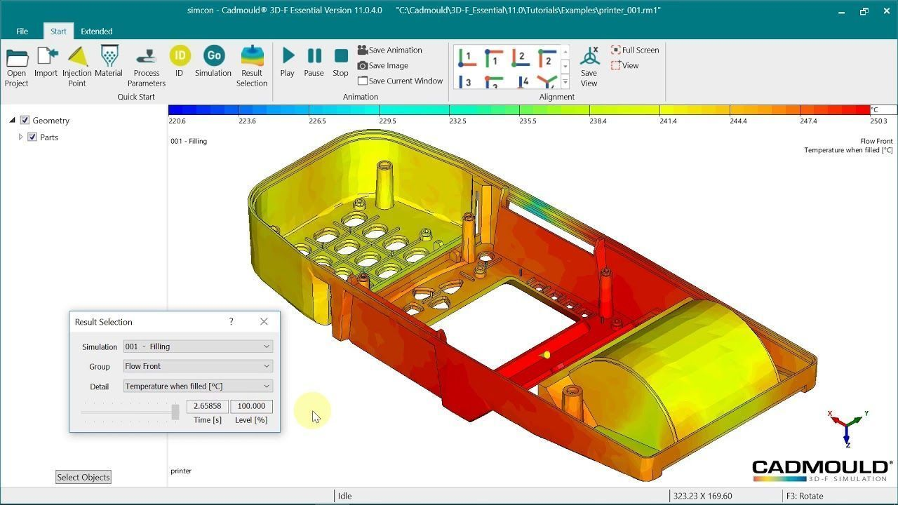 CadMould Reverse Engineering