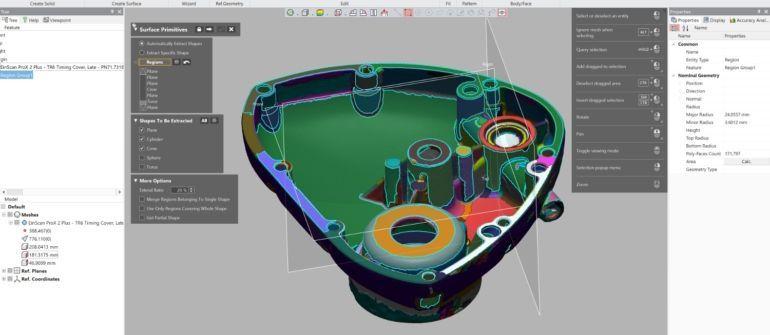 Reverse Engineering mit Design X