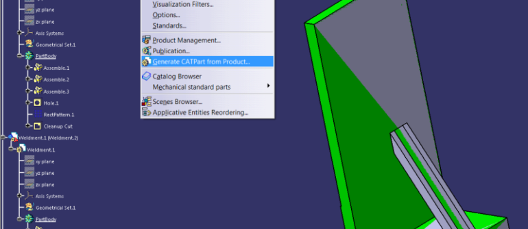 How to Automatically Create STL Files with CATIA Macro?