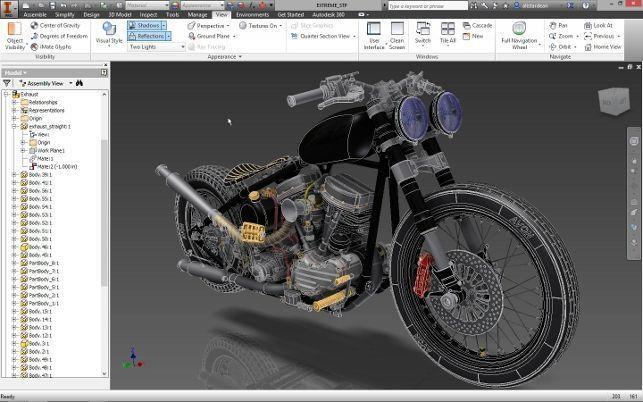 Exportieren von 3D-Dateien in Inventor