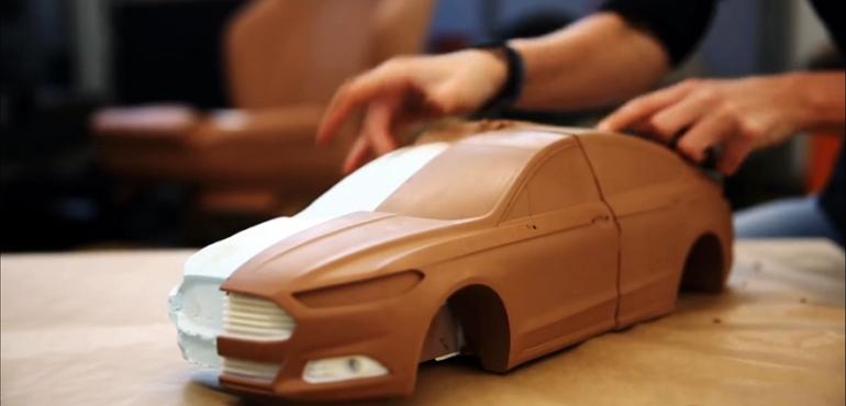 Reverse engineering clay models