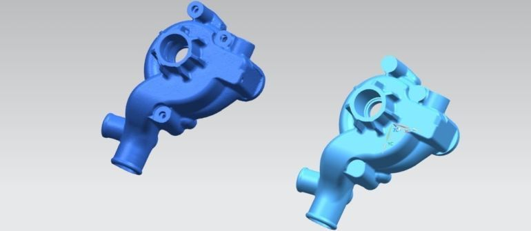 Reverse Engineering in Mold Making